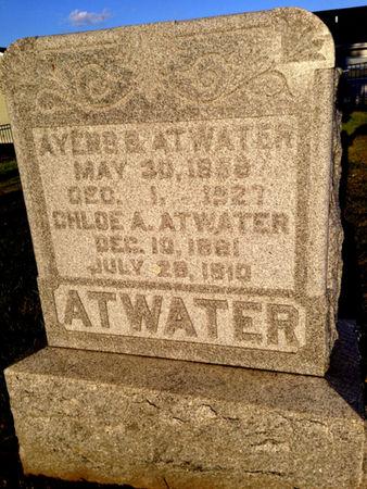 ATWATER, AYERS B. - Linn County, Iowa | AYERS B. ATWATER
