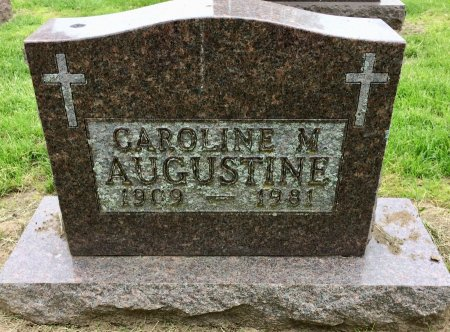 AUGUSTINE, CAROLINE M. - Linn County, Iowa   CAROLINE M. AUGUSTINE