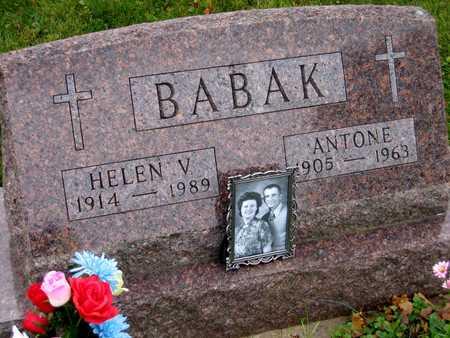 BABAK, HELEN V. - Linn County, Iowa | HELEN V. BABAK
