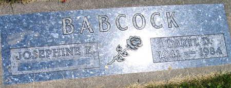 BABCOCK, DARYL D, - Linn County, Iowa | DARYL D, BABCOCK