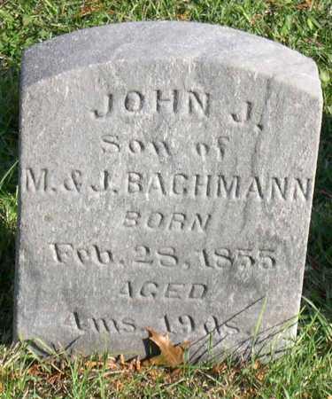 BACHMANN, JOHN J. - Linn County, Iowa | JOHN J. BACHMANN