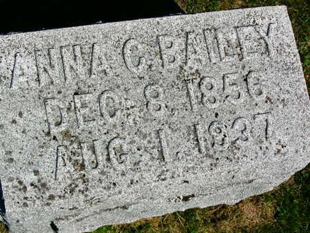 BAILEY, ANNA C. - Linn County, Iowa | ANNA C. BAILEY