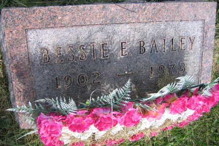 BAILEY, BESSIE E. - Linn County, Iowa | BESSIE E. BAILEY