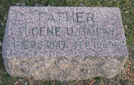 BAILEY, EUGENE U. - Linn County, Iowa | EUGENE U. BAILEY