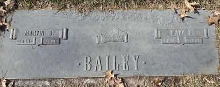 BAILEY, MARVIN DAY - Linn County, Iowa | MARVIN DAY BAILEY