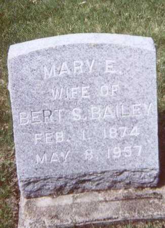 BAILEY, MARY E. - Linn County, Iowa | MARY E. BAILEY