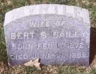BAILEY, MYRTLE - Linn County, Iowa   MYRTLE BAILEY