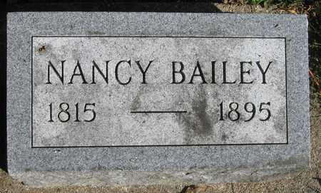 BAILEY, NANCY - Linn County, Iowa   NANCY BAILEY