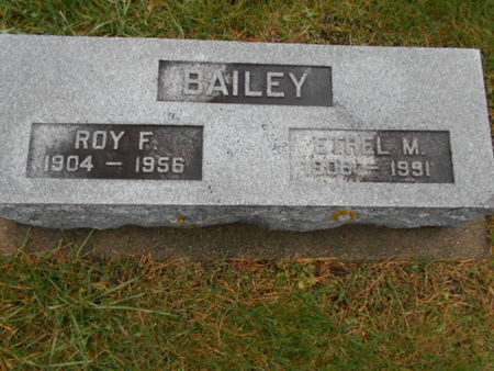 BAILEY, ETHEL MAY - Linn County, Iowa | ETHEL MAY BAILEY