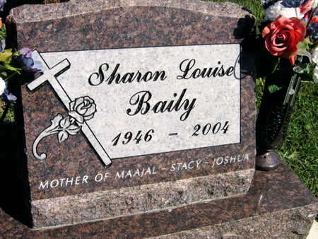 BAILY, SHARON LOUISE - Linn County, Iowa | SHARON LOUISE BAILY