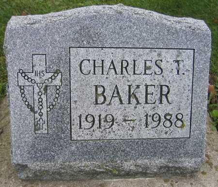 BAKER, CHARLES T. - Linn County, Iowa   CHARLES T. BAKER