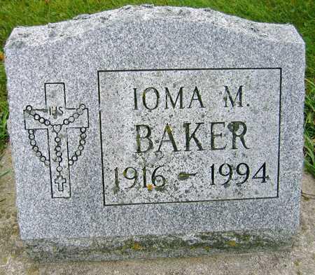 BAKER, IOMA M. - Linn County, Iowa | IOMA M. BAKER