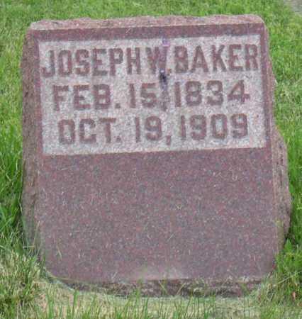 BAKER, JOSEPH W. - Linn County, Iowa | JOSEPH W. BAKER