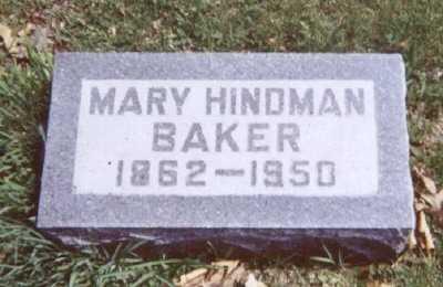 BAKER, MARY - Linn County, Iowa   MARY BAKER
