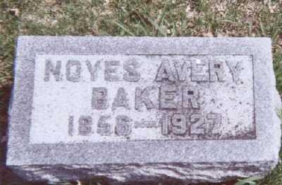 BAKER, NOYES AVERY - Linn County, Iowa | NOYES AVERY BAKER