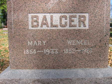 BALCER, MARY - Linn County, Iowa | MARY BALCER