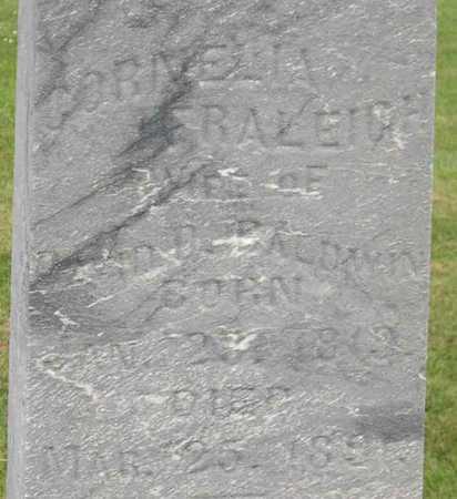 FRALEIGH BALDWIN, CORNELIA - Linn County, Iowa | CORNELIA FRALEIGH BALDWIN