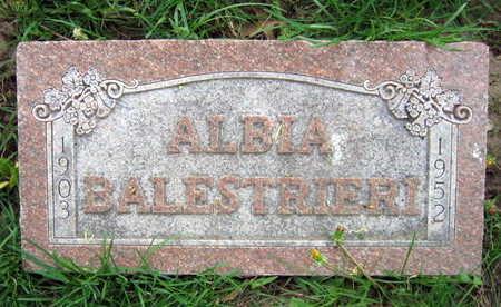 BALESTRIERI, ALBIA - Linn County, Iowa | ALBIA BALESTRIERI