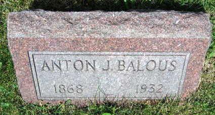 BALOUS, ANTON - Linn County, Iowa | ANTON BALOUS