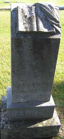 BARKER, HIRAM - Linn County, Iowa | HIRAM BARKER