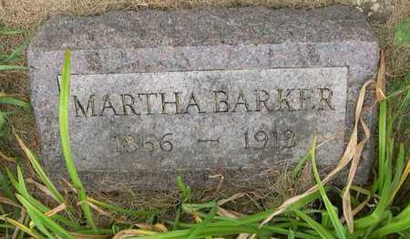 BARKER, MARTHA - Linn County, Iowa | MARTHA BARKER