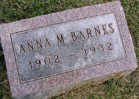 BARNES, ANNA M. - Linn County, Iowa | ANNA M. BARNES