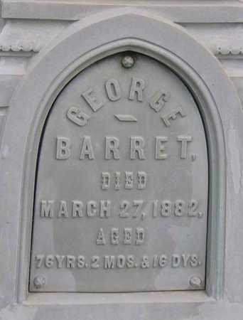 BARRET, GEORGE - Linn County, Iowa | GEORGE BARRET