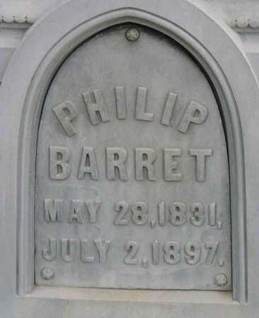 BARRET, PHILIP - Linn County, Iowa | PHILIP BARRET