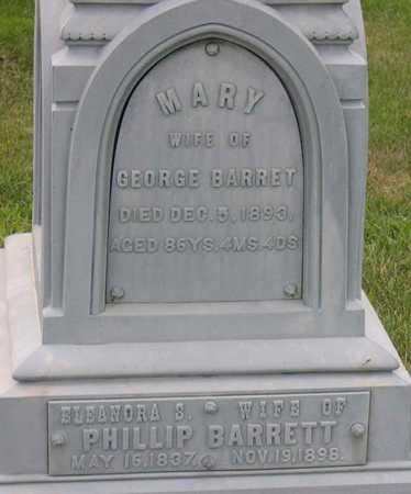BARRETT, ELEANORA - Linn County, Iowa   ELEANORA BARRETT