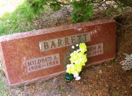 BARRETT, VERNON N. - Linn County, Iowa | VERNON N. BARRETT