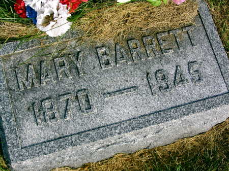 BARRETT, MARY - Linn County, Iowa | MARY BARRETT