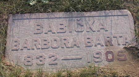 BARTA, BARBORA - Linn County, Iowa | BARBORA BARTA