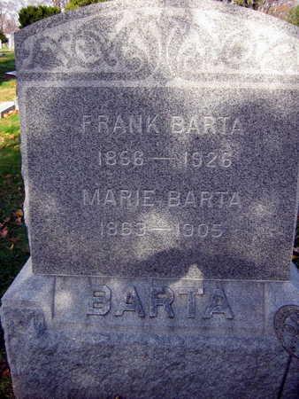 BARTA, MARIE - Linn County, Iowa | MARIE BARTA