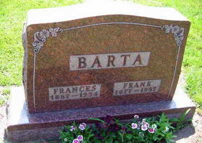 BARTA, FRANCES - Linn County, Iowa   FRANCES BARTA