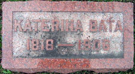 BATA, KATERINA - Linn County, Iowa | KATERINA BATA