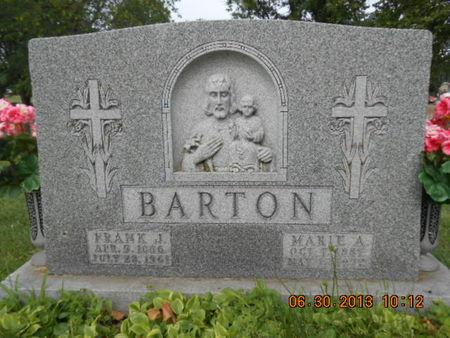 BARTON, MARIE A. - Linn County, Iowa | MARIE A. BARTON