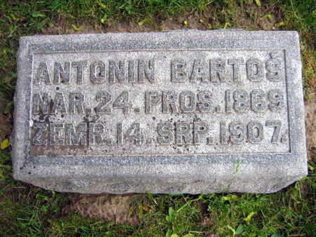 BARTOS, ANTONIN - Linn County, Iowa | ANTONIN BARTOS