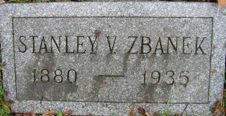 ZBANEK, STANLEY V. - Linn County, Iowa | STANLEY V. ZBANEK