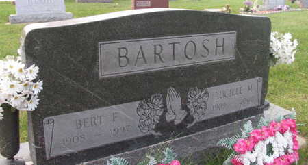 BARTOSH, BERT F. - Linn County, Iowa | BERT F. BARTOSH