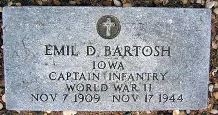 BARTOSH, EMIL D. - Linn County, Iowa   EMIL D. BARTOSH