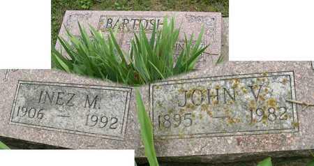 BARTOSH, JOHN V. - Linn County, Iowa   JOHN V. BARTOSH