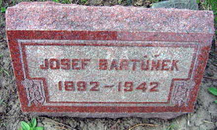 BARTUNEK, JOSEF - Linn County, Iowa | JOSEF BARTUNEK