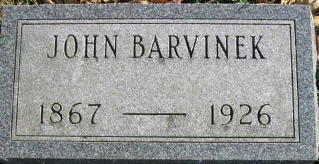 BARVINEK, JOHN - Linn County, Iowa   JOHN BARVINEK