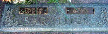 BARVINEK, WILLIAM J. SR. - Linn County, Iowa | WILLIAM J. SR. BARVINEK