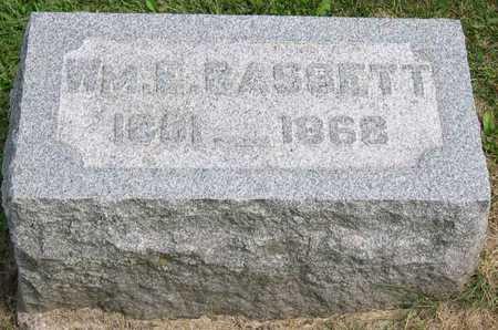 BASSETT, WM. E. - Linn County, Iowa   WM. E. BASSETT