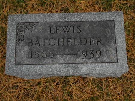 BATCHELDER, LEWIS - Linn County, Iowa | LEWIS BATCHELDER