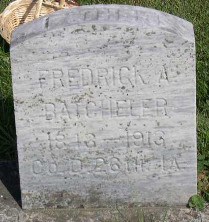 BATCHELER, FREDERICK A. - Linn County, Iowa | FREDERICK A. BATCHELER
