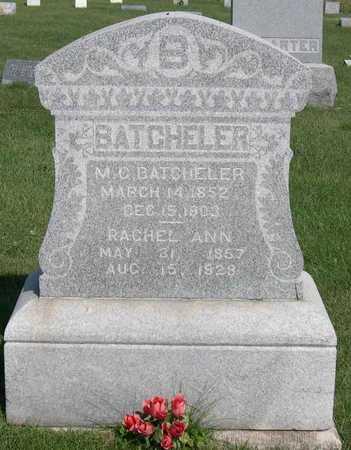 BATCHELER, RACHEL ANN - Linn County, Iowa   RACHEL ANN BATCHELER