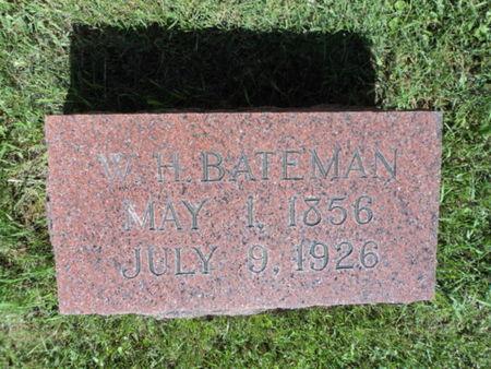 BATEMAN, WILLIAM HENRY - Linn County, Iowa | WILLIAM HENRY BATEMAN