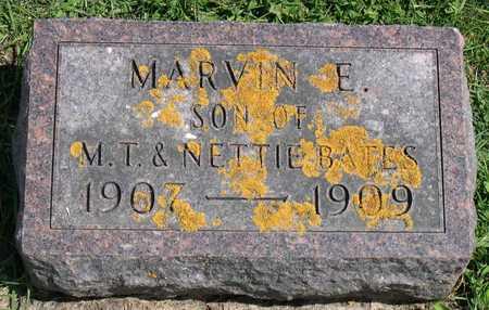 BATES, MARVIN E. - Linn County, Iowa   MARVIN E. BATES